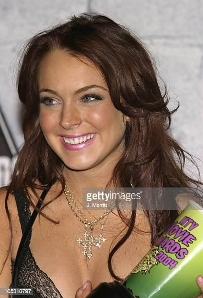 Lindsay Lohan host and winner for Breakthrough Female Performance for 'Freaky Friday'