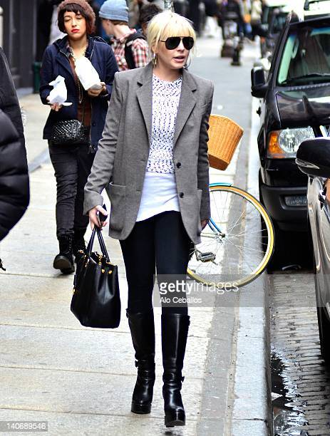 Lindsay Lohan is seen in SoHo on March 4 2012 in New York City