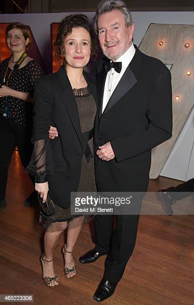 Lindsay Marshall and Gawn Grainger attend Fast Forward The National Theatre's fundraising gala at The National Theatre on March 4 2015 in London...