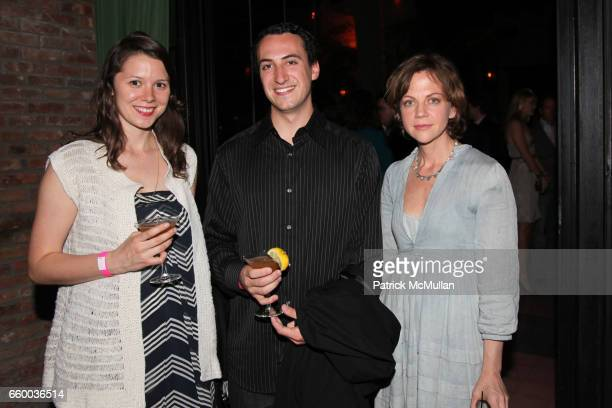 Lindsay Mcconnell Joey Carey and Libby Spears attend House of Lavande Hosts the Nest Foundation Gala at Bowery Hotel on May 1 2009 in New York City