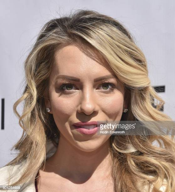 Lindsay McCormick attends BRAVO'S Stripped TV Personality and Celebrity Fashion Stylist Expert Ali Levine's Pink Carpet Baby Shower at Rockwell Table...