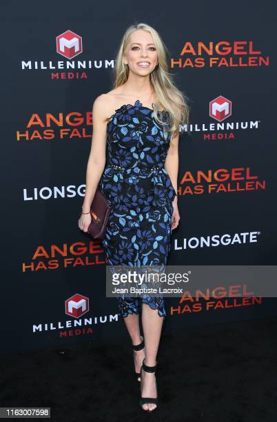 Lindsay McCormick attends the LA Premiere of Lionsgate's Angel Has Fallen at Regency Village Theatre on August 20 2019 in Westwood California