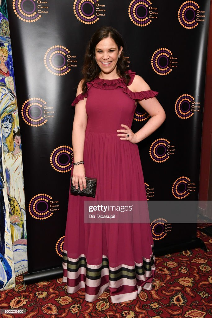 Lindsay Mendez attends the 2018 Outer Critics Circle Theatre Awards at Sardi's on May 24, 2018 in New York City.
