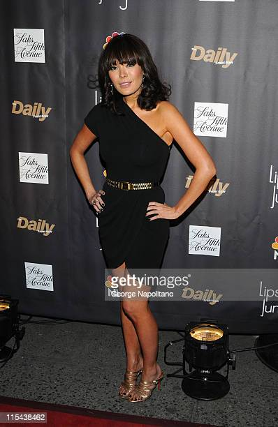 Lindsay Price arrives at Saks Fifth Avenue for NBC and Saks Fifth Avenue host Premiere of 'Lipstick Jungle' on January 31 in New York City