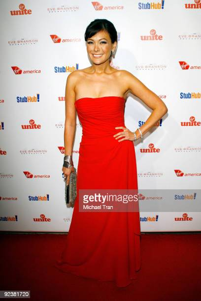 """Lindsay Price arrives to the 3rd Annual """"Rock The Kasbah"""" fundraising gala held at Vibiana on October 26, 2009 in Los Angeles, California."""