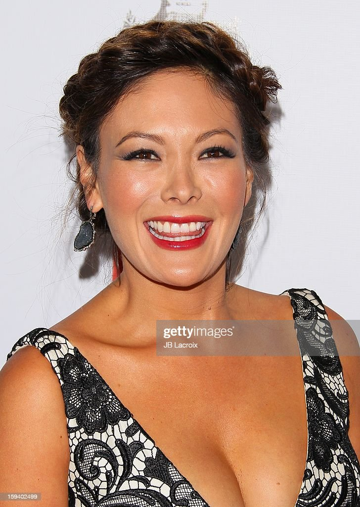 Lindsay Price attends the 2013 G'Day USA Black Tie Gala at JW Marriott Los Angeles at L.A. LIVE on January 12, 2013 in Los Angeles, California.