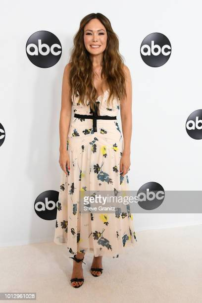 Lindsay Price attends the Disney ABC Television TCA Summer Press Tour at The Beverly Hilton Hotel on August 7 2018 in Beverly Hills California