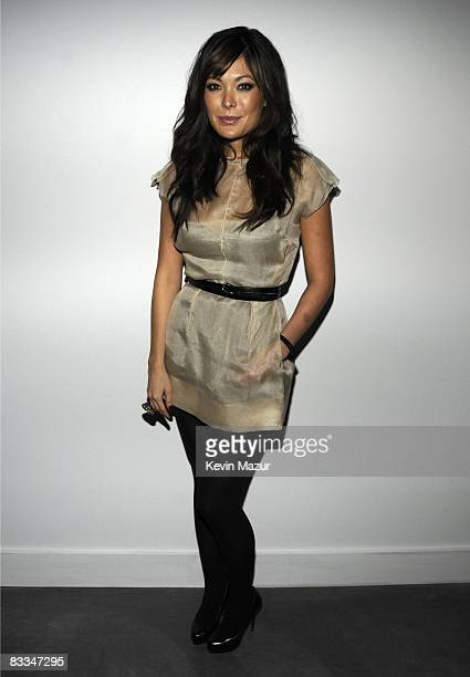 Lindsay Price attends the Dolce Gabbana and The Cinema Society Celebration for Madonna and the cast of Filth and Wisdom at The Thompson Hotel on...