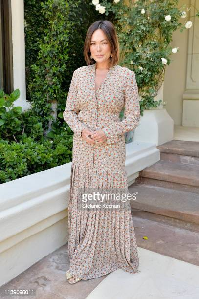 Lindsay Price attends Valentino Sponsors HEART Annual Brunch on April 24 2019 in Los Angeles California