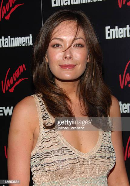 Lindsay Price during Entertainment Weekly 2007 Upfront Party Red Carpet at The Box in New York City New York United States
