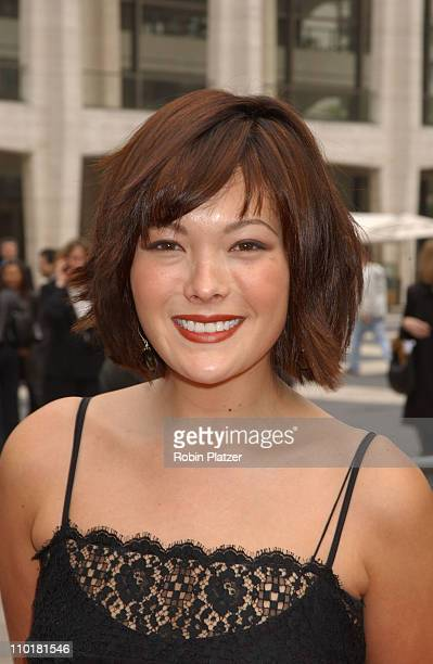 Lindsay Price during NBC 20032004 Upfront Arrivals at The Metropolitan Opera House in New York City New York United States