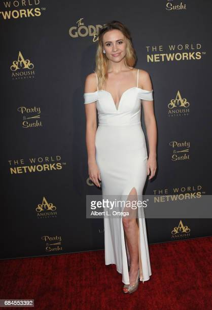 Lindsay Rhoades arrives for The World Networks Presents Launch Of The Goddess Empowered held at Brandview Ballroom on May 17 2017 in Glendale...