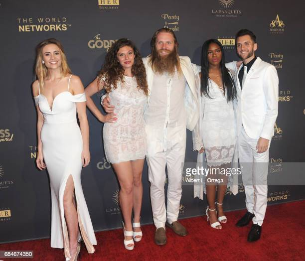 Lindsay Rhoades Wren Barnes Sky Jensen Ivy Ejam and Armon Anderson at The World Networks Presents Launch Of The Goddess Empowered held at Brandview...
