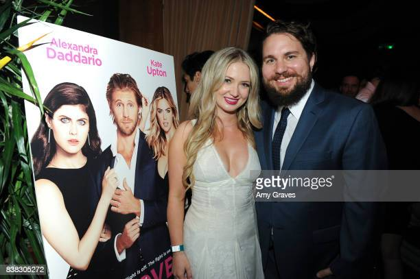 Lindsay Selles and Tyler Jackson attend The Layover film premiere afterparty hosted by DIRECTV at The Highlight Dream Hollywood with Foster Grant and...