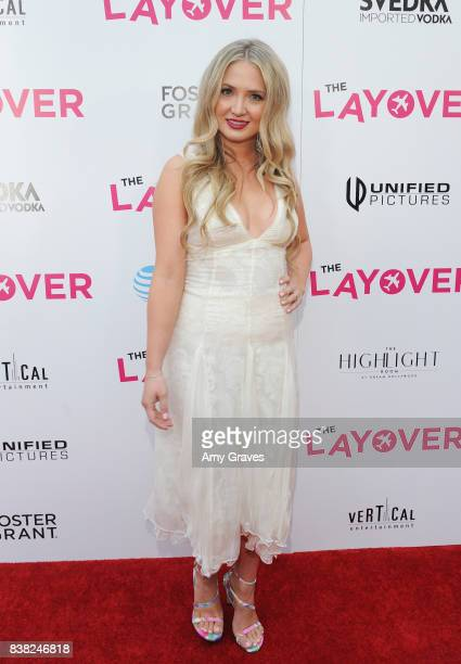 Lindsay Selles attends 'The Layover' film premiere hosted by Vertical Entertainment DIRECTV Foster Grant and SVEDKA on August 23 2017 in Los Angeles...