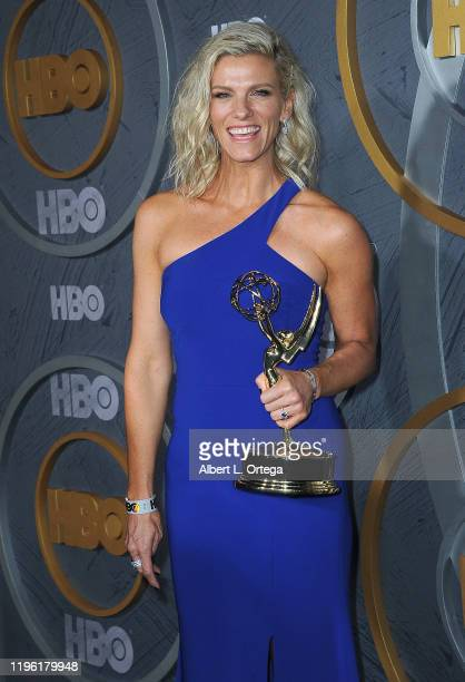 Lindsay Shookus arrives for the HBO's Post Emmy Awards Reception held at The Plaza at the Pacific Design Center on September 22, 2019 in West...