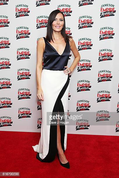 Lindsay Stoppard attends the Jameson Empire Awards 2016 at The Grosvenor House Hotel on March 20 2016 in London England