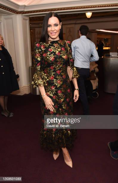 Lindsay Stoppard attends the press night performance of Madam Butterfly part of the English National Opera's 2019/20 season at The London Coliseum on...
