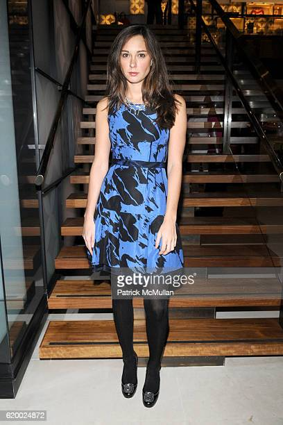 Lindsay Talbot attends LOUIS VUITTON TEEN VOGUE Holiday Celebration with AMY ASTLEY at Louis Vuitton on December 11 2008 in New York City