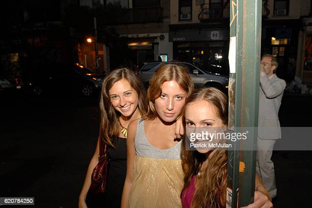 Lindsay Talbot Lauren Gould and Ariel Kaye attend ALISON NELSON'S CHOCOLATE BAR East Village Grand Opening Produced by Workhouse Publicity at 127...