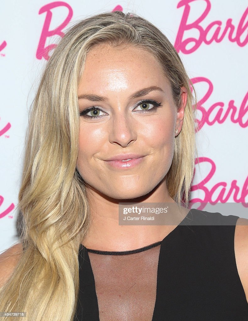 Lindsay Vonn attends Barbie And CFDA Event on September 5, 2014 in New York City.