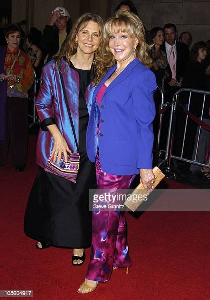 Lindsay Wagner and Barbara Eden during The Ten Commandments Opening Night at Kodak Theatre in Los Angeles CA United States