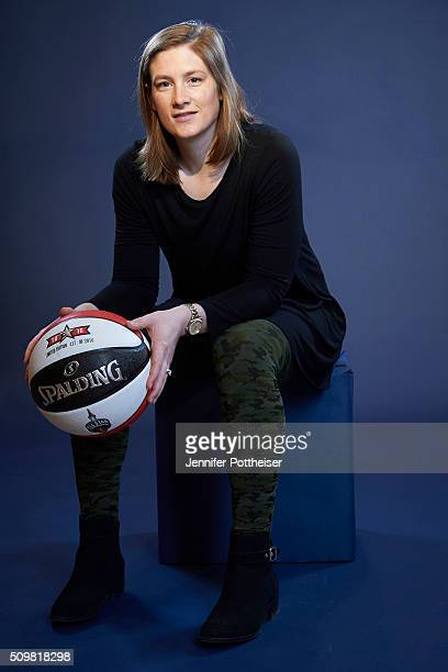 Lindsay Whalen of the Minnesota Lynx poses for a portrait during NBA AllStar Weekend on February 12 2016 at the Sheraton Centre in Toronto Ontario...