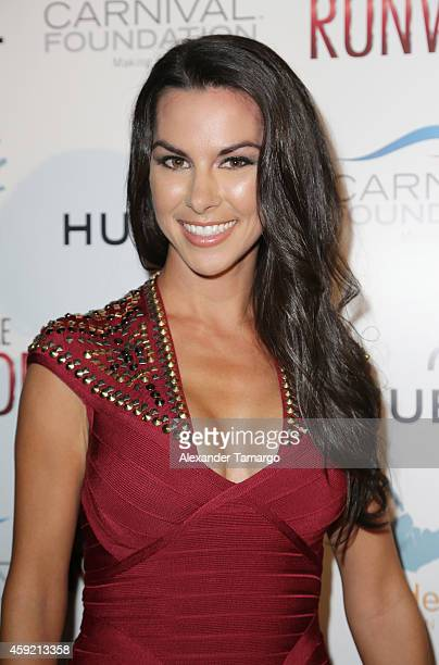 Lindsey Berman attends 'A Night on the Runwade' to benefit Wade's World Foundation at Ice Palace Film Studios on November 18 2014 in Miami Florida
