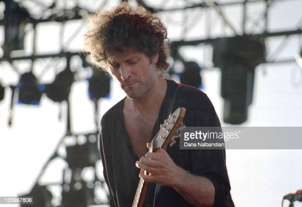 Lindsey Buckingham of Fleetwood Mac during Lindsey Buckingham Performs at the Gorge in George June 12 1993 at The Gorge in George in George...