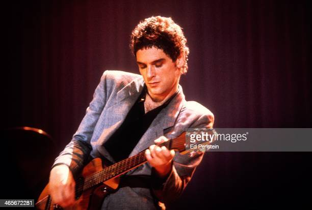Lindsey Buckingham performs with Fleetwood Mac at the Cow Palace in December 1979 in San Francisco California