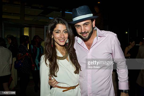 Lindsey Calla and Chris Brancato at the Matthew Arthur Presentation at AIA New Orleans during Fall/Winter 2012 NOLA Fashion Week on March 8 2012 in...