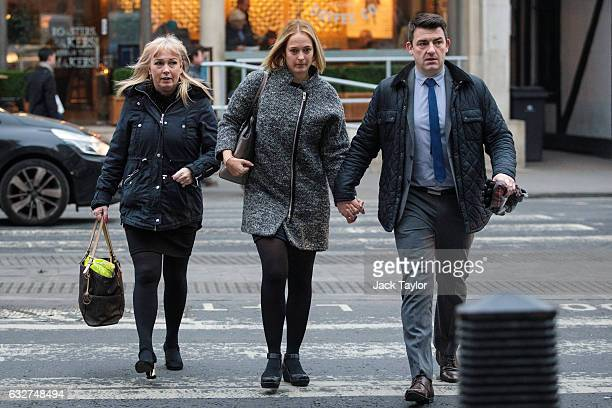 Lindsey Clifford and her husband Danny daughter and soninlaw of former Birmingham City footballer Denis Thwaites and his wife Elaine who were both...