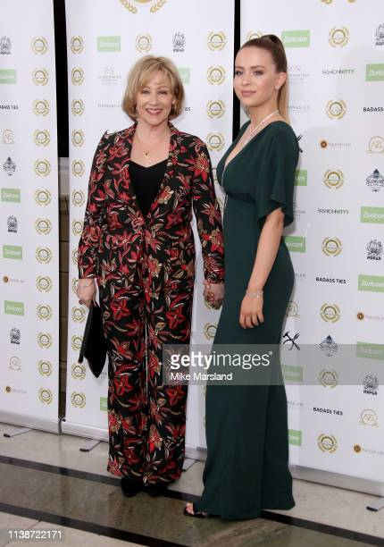 Lindsey Coulson attends the National Film Awards at Porchester Hall on March 27 2019 in London England