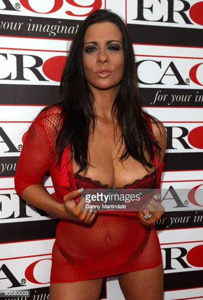 Lindsey Dawn McKenzie attends the annual 'Erotica' exhibition at Olympia Exhibition Centre on November 20 2009 in London England