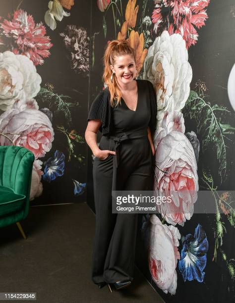 Lindsey Deluce poses at the CTV Upfront Portrait Studio at Sony Centre For Performing Arts on June 06, 2019 in Toronto, Canada.