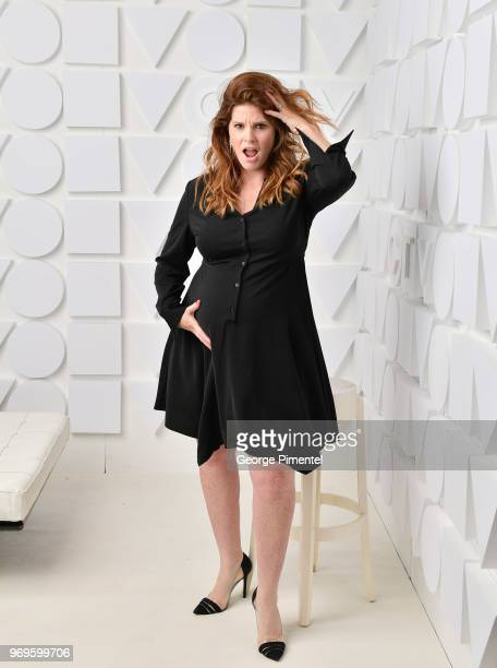 Lindsey Deluce poses at the CTV Upfronts portrait studio held at the Sony Centre For Performing Arts on June 7, 2018 in Toronto, Canada.