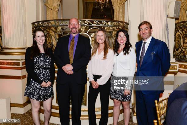 Lindsey DeLuna Rich Merritt Alyssa Lefebvre Kaley Donovan and Simon Roosevelt attend Audubon's 14th Annual Women In Conservation Luncheon at The...
