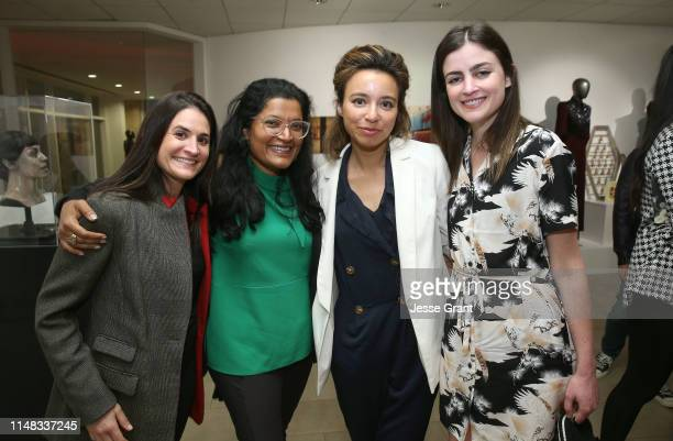 Lindsey Faivus executive producer Subrata De Isobel Yeung Vice on HBO Correspondent/Producer and producer Jackie Jesko attend the VICE on HBO Emmy...