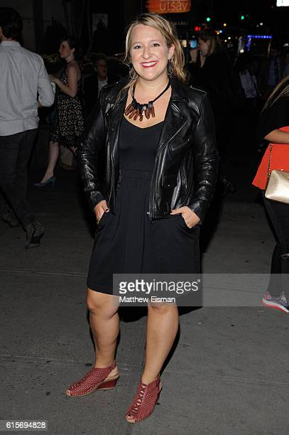 Lindsey Ferrentino attends Love Love Love OffBroadway Opening Night at Laura Pels Theatre on October 19 2016 in New York City