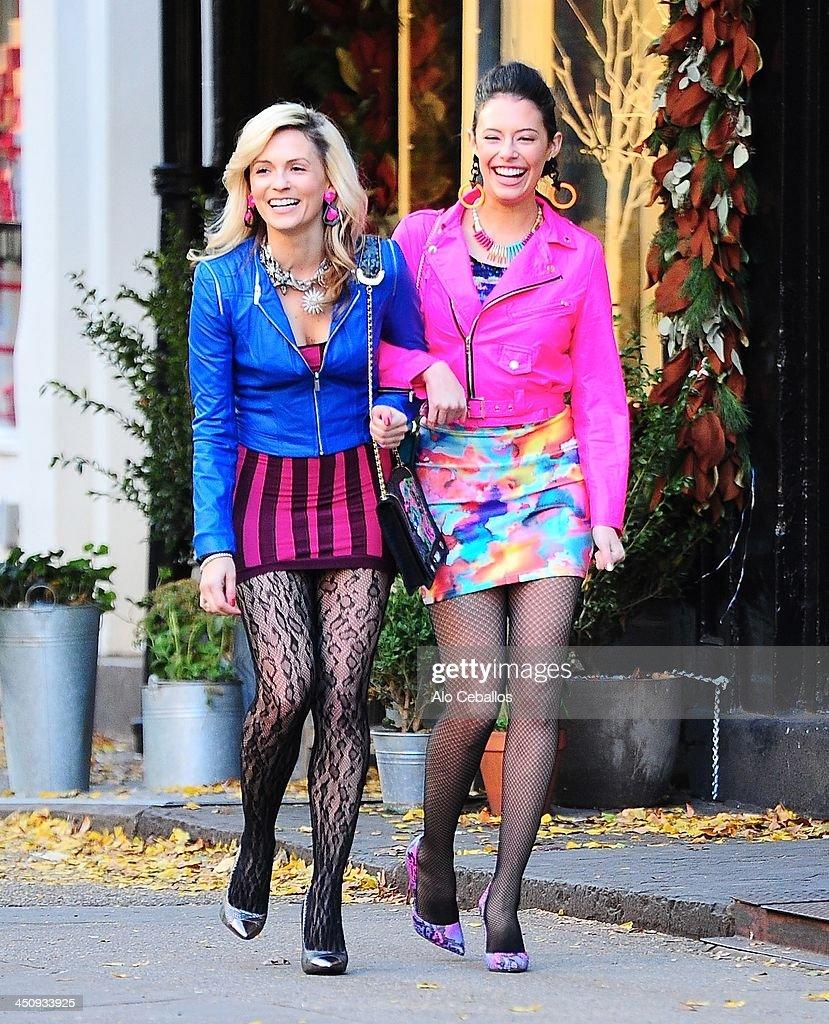 Celebrity Sightings In New York City - November 20, 2013 : News Photo