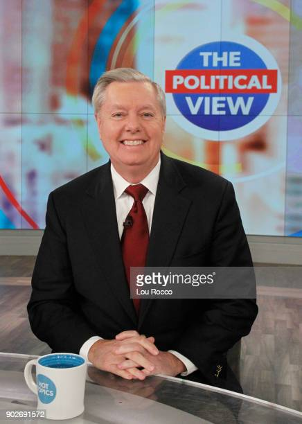 THE VIEW Lindsey Graham is the guest today Monday January 8 2018 on ABC's 'The View' 'The View' airs MondayFriday on the ABC Television Network GRAHAM