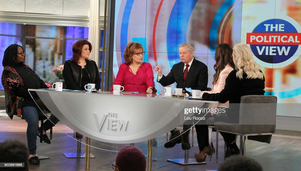 THE VIEW - Lindsey Graham is the guest today, Monday, January 8, 2018 on ABC's 'The View.' 'The View' airs Monday-Friday (11:00 am-12:00 pm, ET) on the ABC Television Network. MCCAIN
