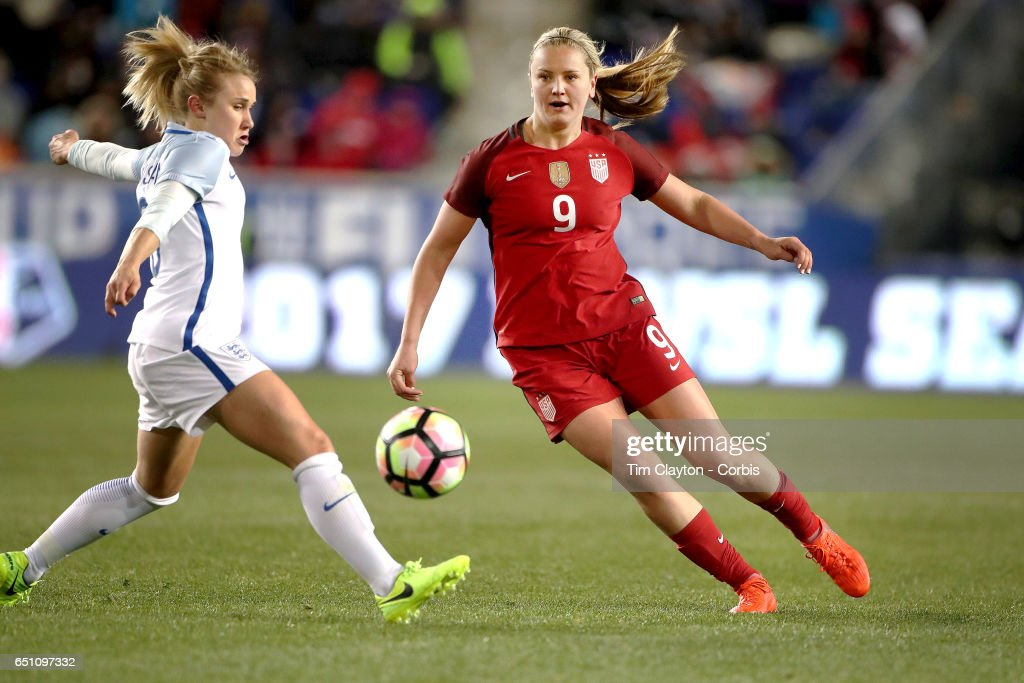 USA Vs England.  SheBelieves Cup : News Photo