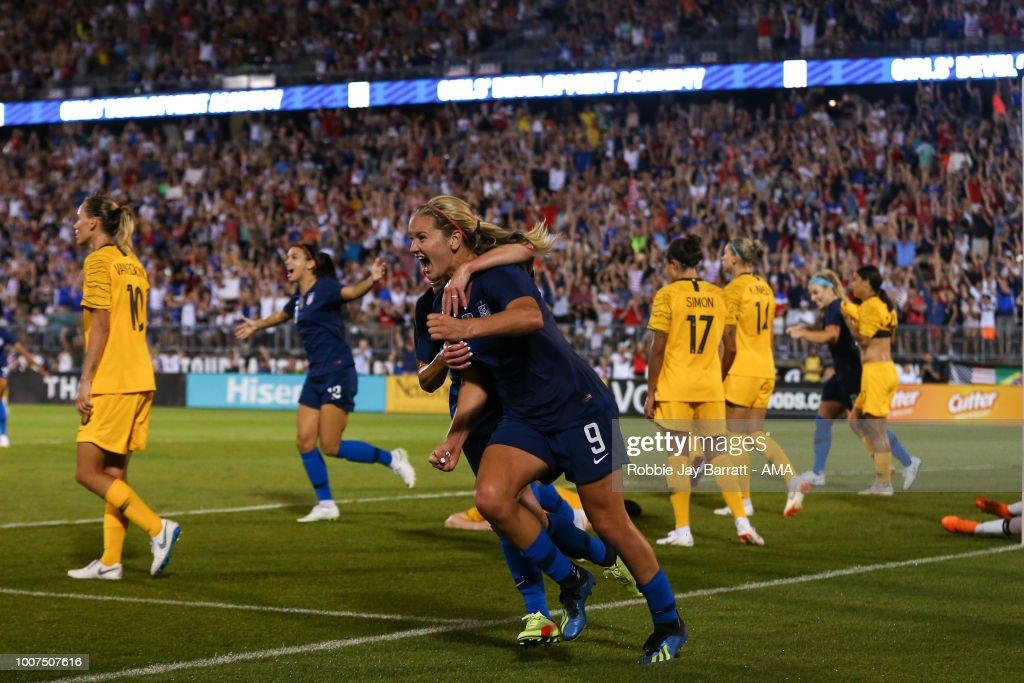 2018 Tournament Of Nations: Australia v United States : News Photo
