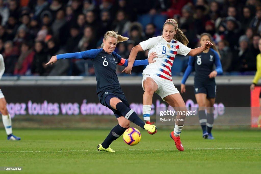 France Women v USA Women - International Friendly : Photo d'actualité