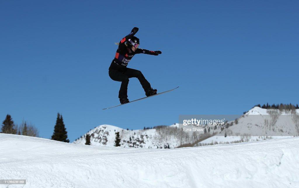 UT: FIS Snowboard World Championships - Men's and Ladies' Snowboard Cross Qualifiers