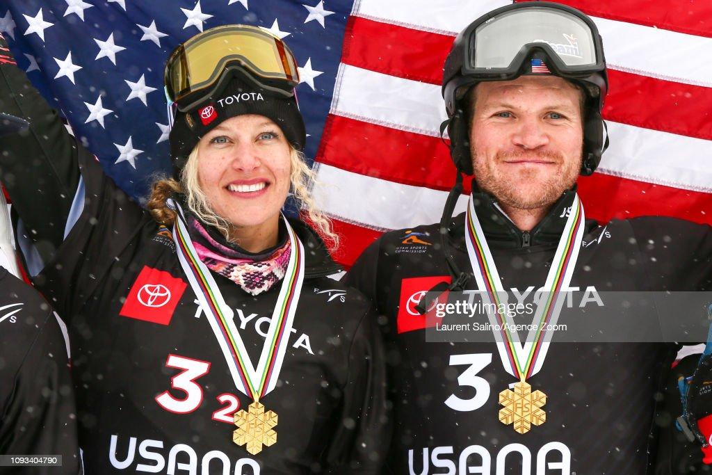 UT: FIS Snowboard World Championships - Men's and Ladies' Snowboard Cross Team Event