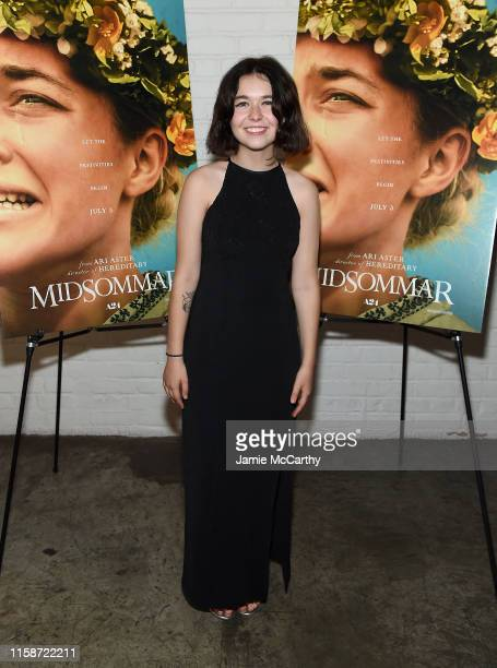 """Lindsey Jordan attends the """"Midsommar"""" New York Screening at Metrograph on June 27, 2019 in New York City."""