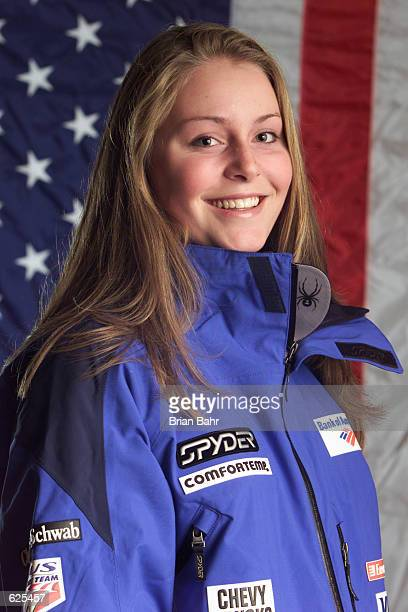 Lindsey Kildow of the USA Ski team poses for a portrait during the USSA Media Day in Beaver Creek Colorado DIGITAL IMAGE Mandatory Credit Brian...