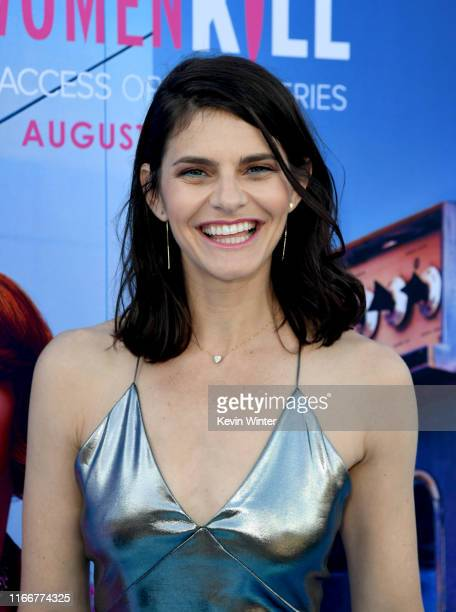Lindsey Kraft arrives at the premiere of CBS All Access' Why Women Kill at the Wallis Annenberg Center for the Performing Arts on August 07 2019 in...
